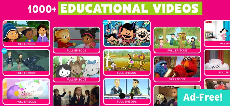 PBS KIDS Video скриншот 9