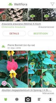 Pl@ntNet Pflanzenbestimmung Plakat