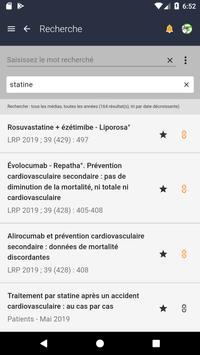 Application Prescrire screenshot 2