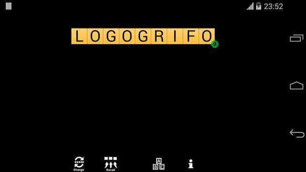 Logogrifo poster