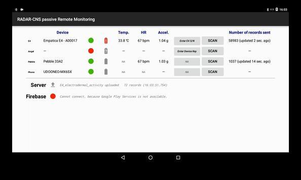 RADAR passive RMT screenshot 1