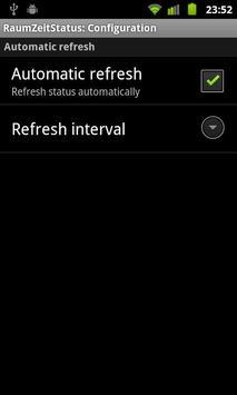 RaumZeitLabor: status widget screenshot 1