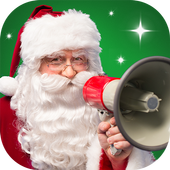Message from Santa!  video, phone call, voicemail icon
