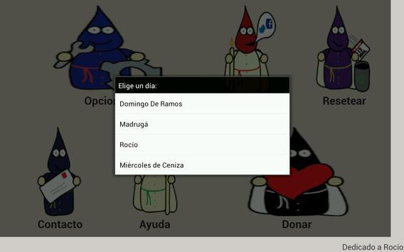 Calendario Cofrade screenshot 10
