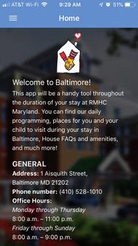 RMHC Maryland poster