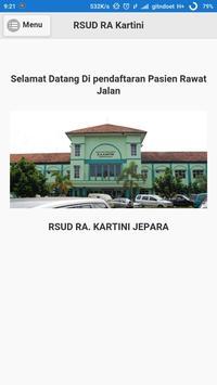 Pendaftaran RSUD RA Kartini poster