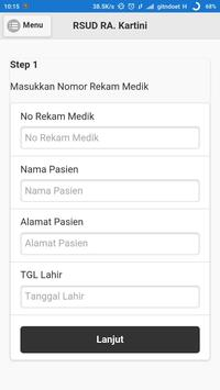 Pendaftaran RSUD RA Kartini screenshot 1