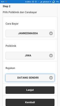 Pendaftaran RSUD RA Kartini screenshot 2