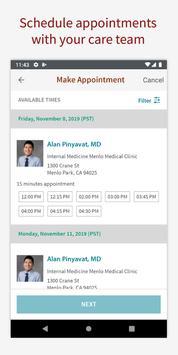 Stanford Health Care MyHealth screenshot 1