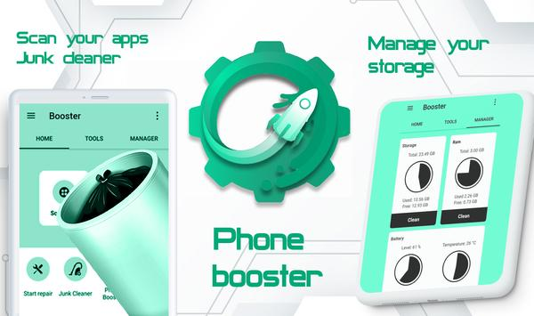 12 Schermata Super Android Booster - Improve Phone Productivity