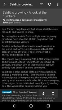 SaidIt screenshot 1
