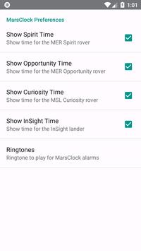 MarsClock screenshot 3