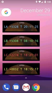 MarsClock screenshot 2