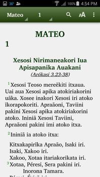 Apurinã - Biblia poster