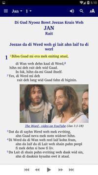 Belize Kriol - Bible screenshot 1