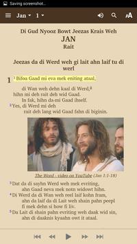 Belize Kriol - Bible screenshot 2