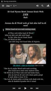 Belize Kriol - Bible screenshot 3