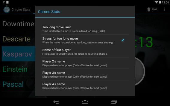 Boardgames timer screenshot 6