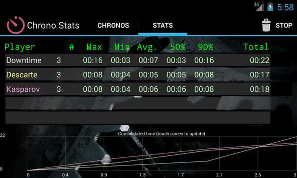 Boardgames timer screenshot 1