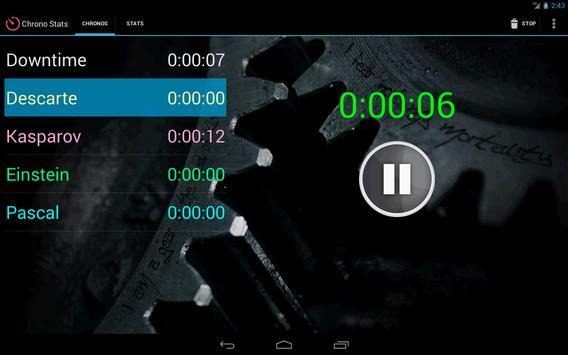 Boardgames timer screenshot 2