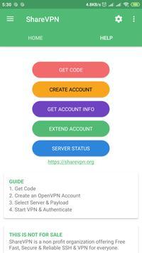 ShareVPN Screenshot 1