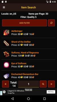 Wow Auctioneer screenshot 2