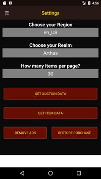 Wow Auctioneer screenshot 4