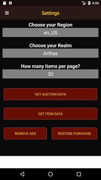 Wow Auctioneer screenshot 9