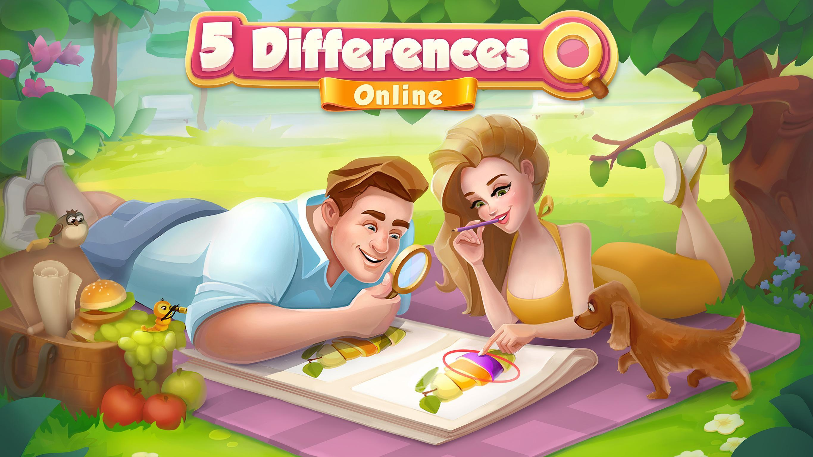 5 Differences poster