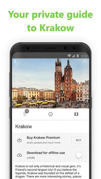Krakow SmartGuide - Audio Guide & Offline Maps screenshot 1