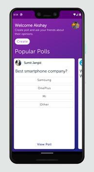 Polling screenshot 1