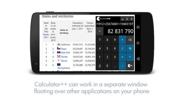 Calculator ++ ảnh chụp màn hình 4
