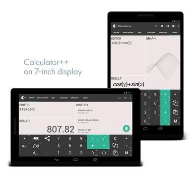 Calculator ++ ảnh chụp màn hình 6