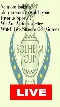 Solheim Cup Live Stream 2019 - Live screenshot 1