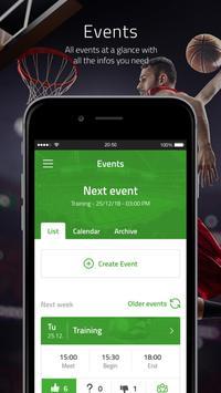 PlayerPlus - Team management screenshot 1