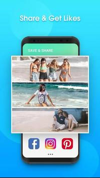 Square image - edit photos & create collages poster