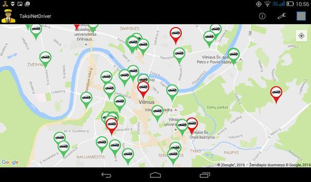 TaksiNet Driver screenshot 1