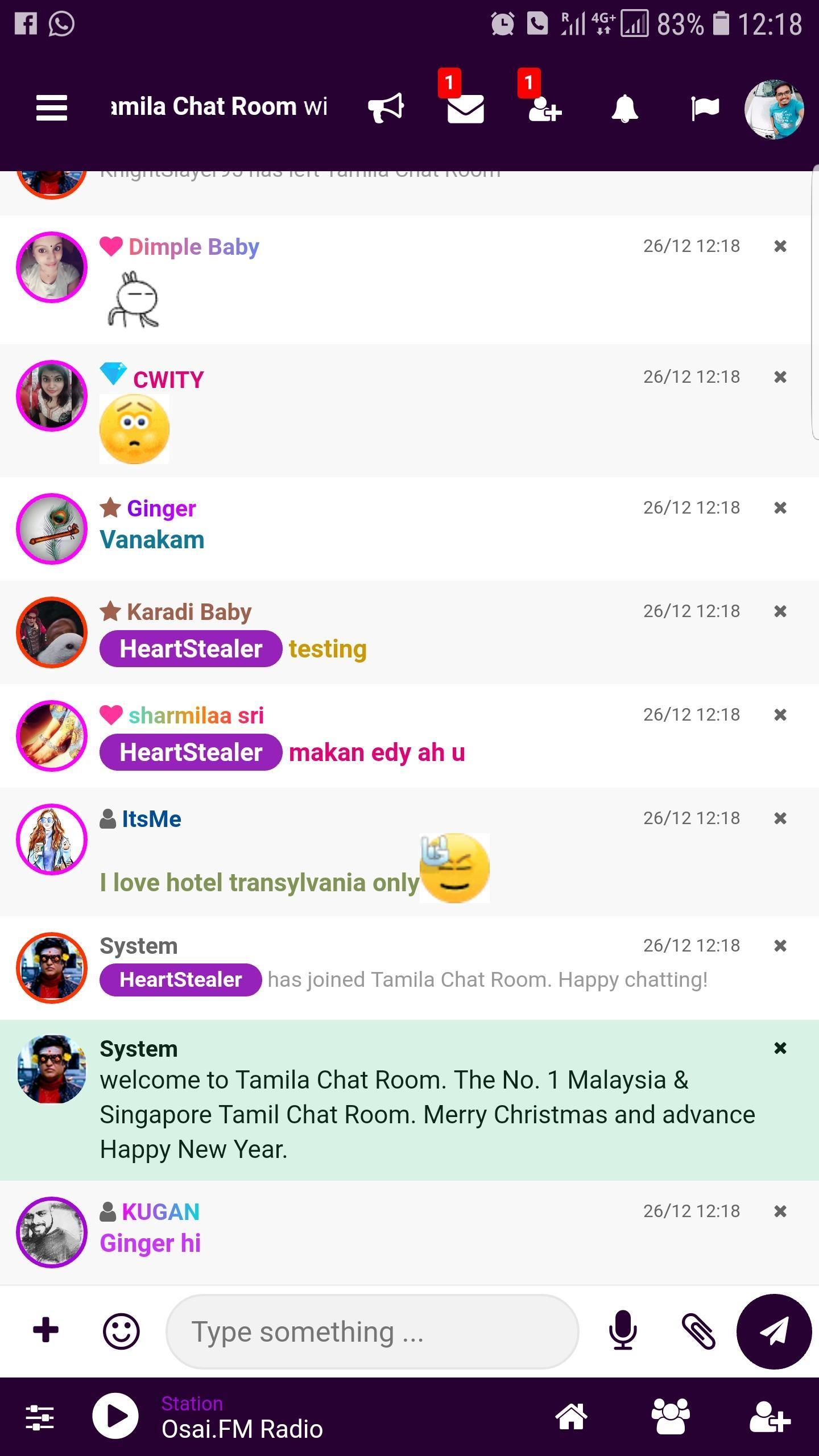 Tamila Chat Room for Android - APK Download
