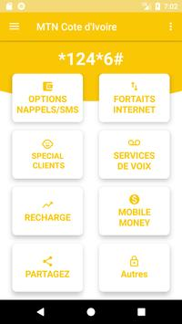 MTN Cote-d'Ivoire - USSD Codes for Android - APK Download