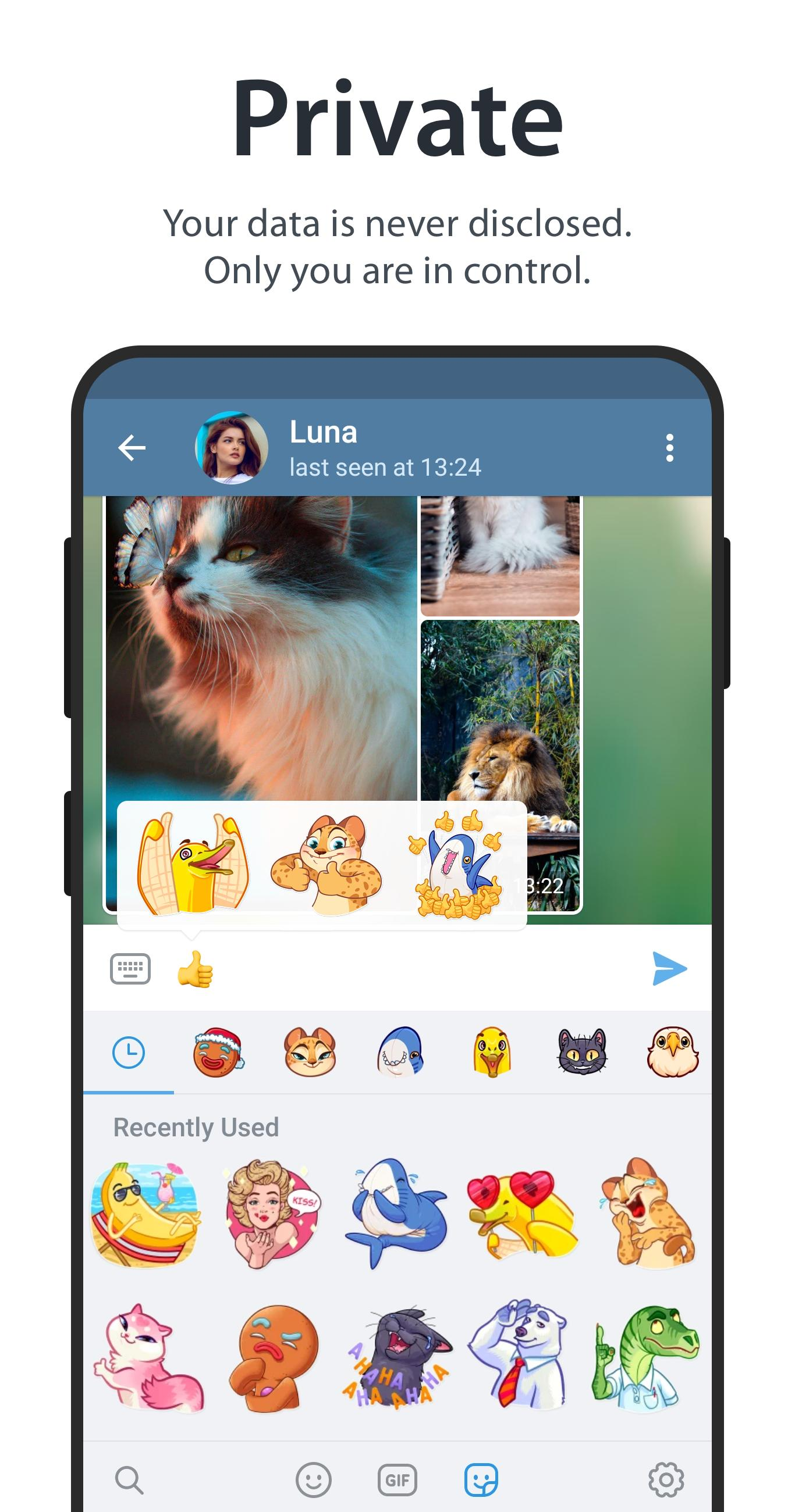 Telegram app for Android download 2019