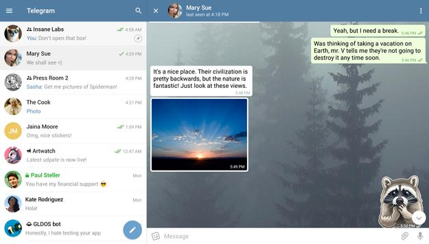 Telegram captura de pantalla 7