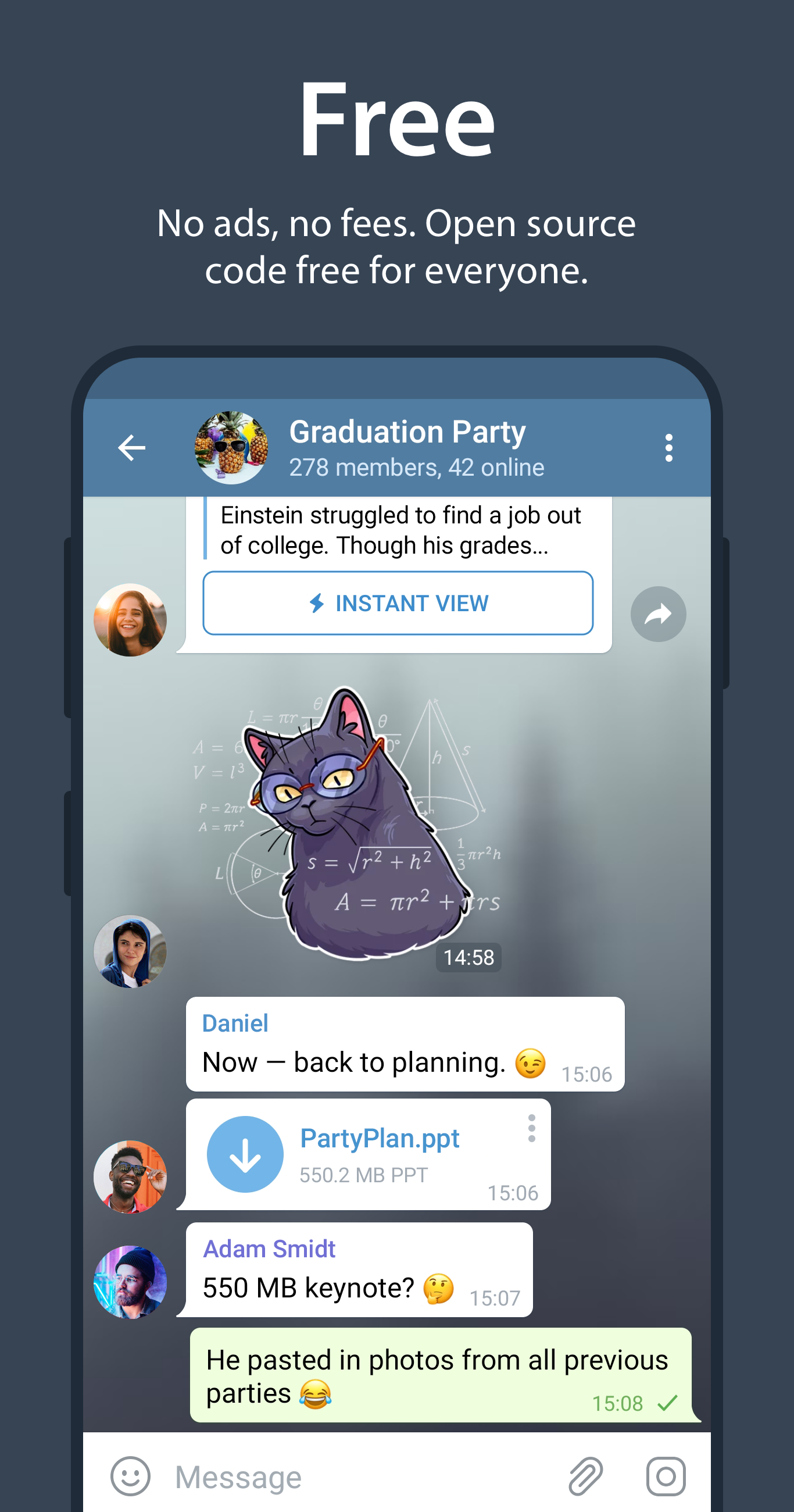 Telegram APK 7.6.0 Download for Android – Download ...