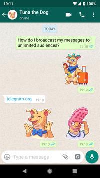 WhatsApp Stickers captura de pantalla 6