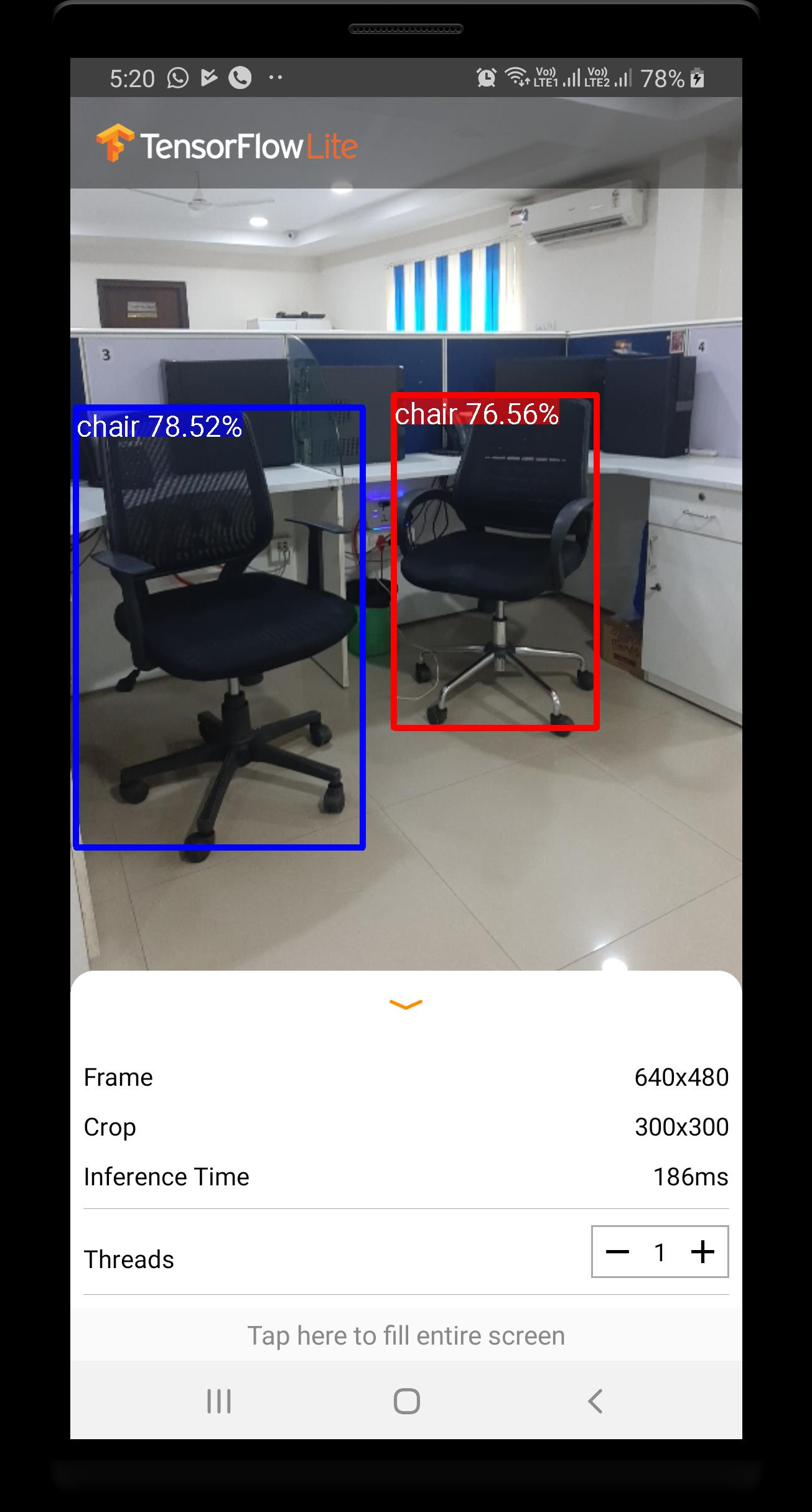 TensorFlow Lite Object Detection Demo 2019 for Android - APK