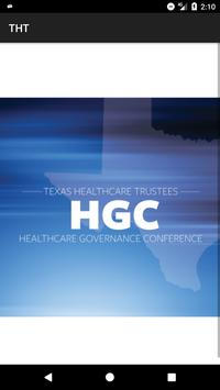Healthcare Governance Conf poster