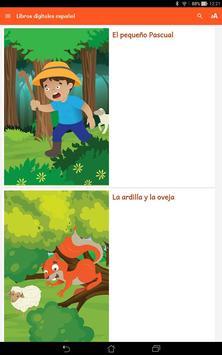Lectura Multicolor Español poster