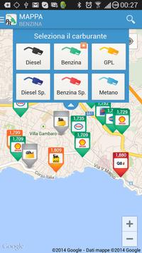 2 Schermata Prezzi Benzina