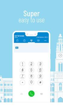 International calling app - VINOTA poster