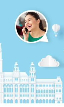 International calling app - VINOTA screenshot 1