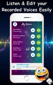 Voice Changer Audio Effects Screenshot 1